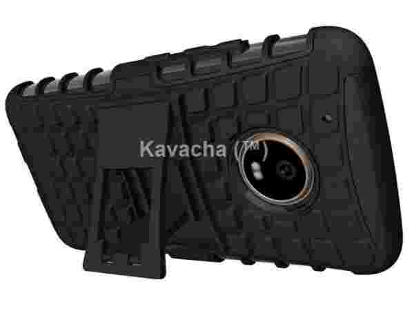 Kavacha Moto G5 Combo of Armor Stand Case