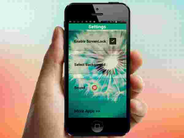 31. How to enable screen lock on mobiles?