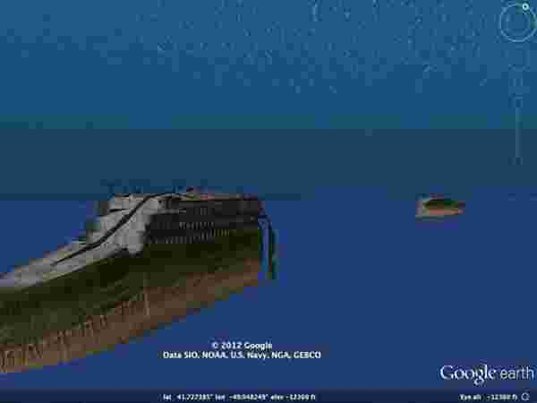 Things You Can Do With Google Earth Gizbot News - Cruise ship google earth