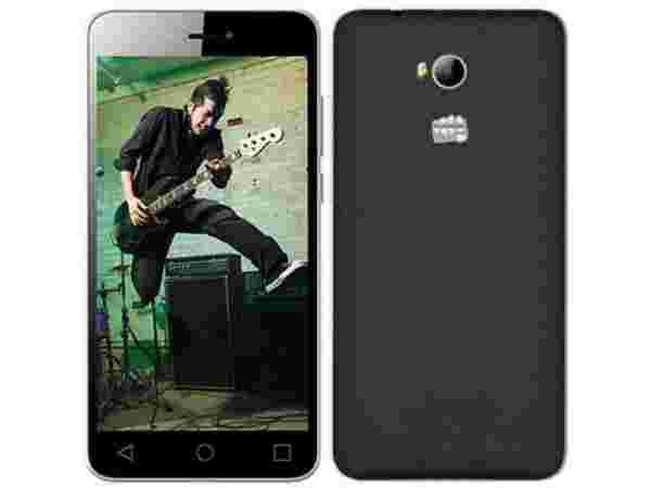 Flat Rs.1,550 Off on Micromax Spark 3 (5.5 inch HD) - Buy for Rs. 4,449 Only