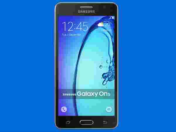 Samsung Galaxy On5 - at Rs.6490 (Flat Rs2500 Off)