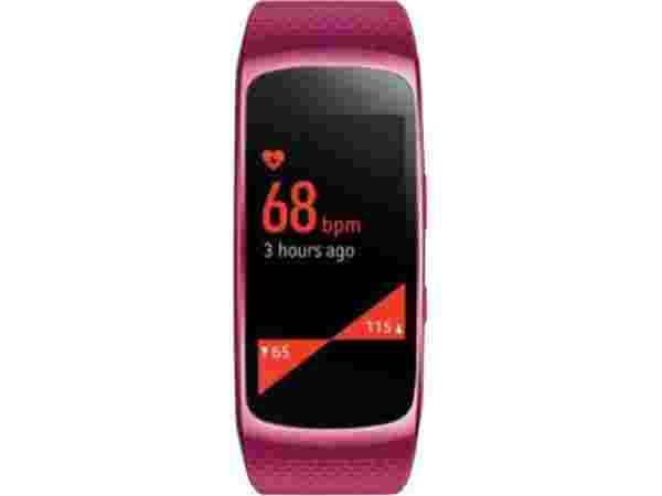 40% off on Samsung Gear Fit 2 Pink Smartwatch