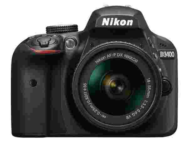 10% off on Nikon D3400 DSLR Camera