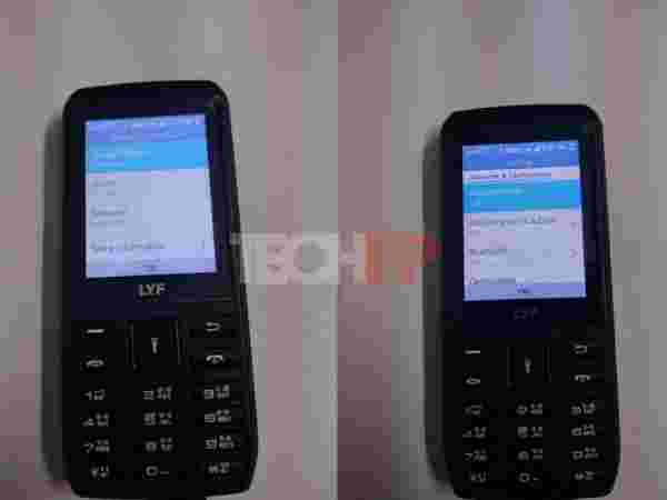 Potential specs of the LYF feature phone