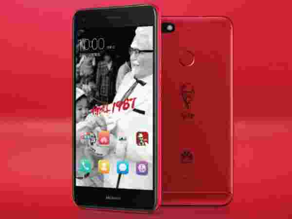 KFC launching a limited edition Huawei 7 Plus