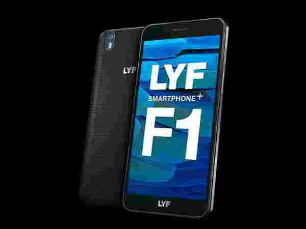 42% Off off on LYF F1 Black with 20% More Data Offer