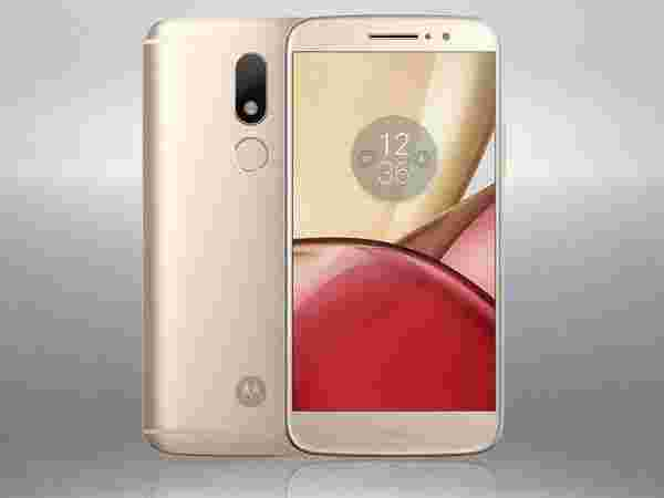 18% off on Motorola Moto M 32GB (Gold)