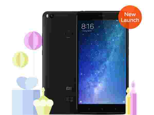 6% off Mi Max 2 64 GB (Black)