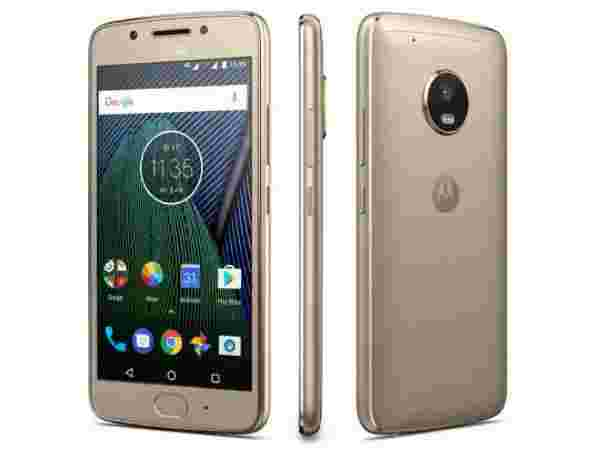 8% off on Motorola Moto G5 (3GB, Fine Gold)