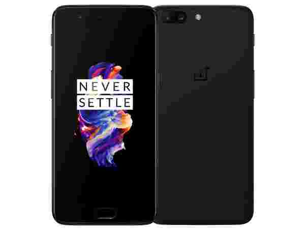 OnePlus 5 (16MP rear camera with dual LED Flash and secondary 20MP camera)