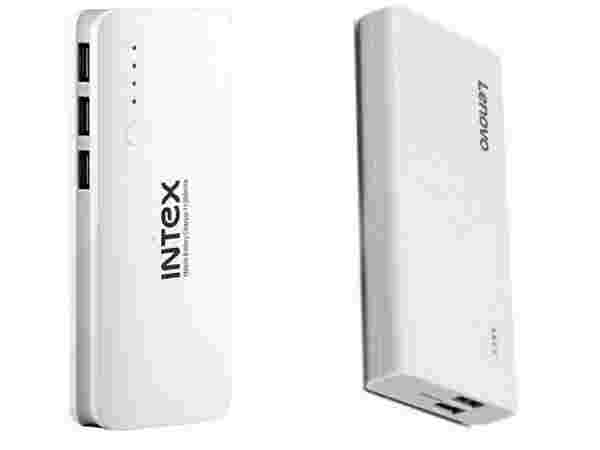 Upto 60% off on Power Banks