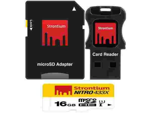 Upto 60% off on Strontium Mobile Memory cards
