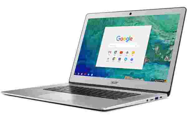 New Acer Chromebook 15 with Aluminum Design
