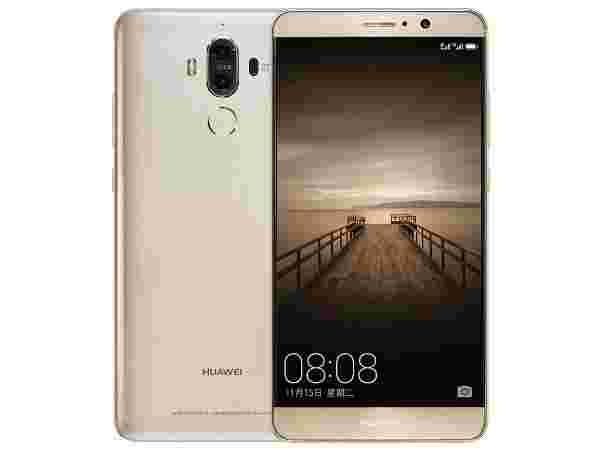 Huawei Mate 9 (20MP + 12MP Dual rear cameras and 8MP Front Camera)