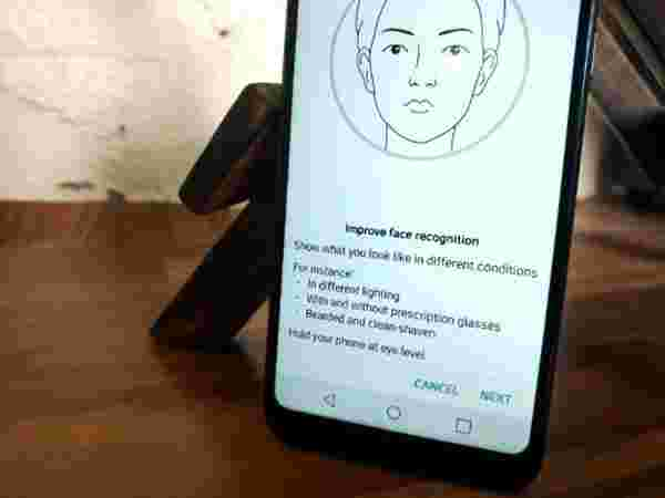 No Fingerprint scanner, instead you get Face Recognition