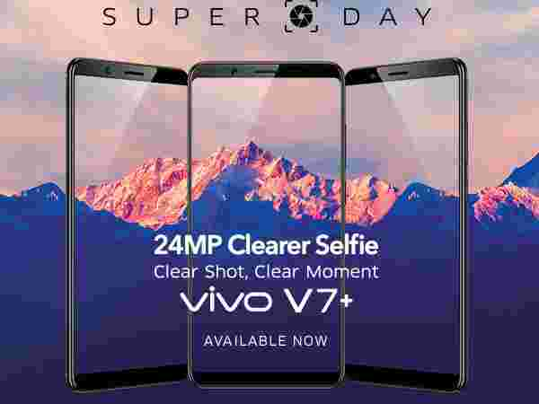 35% OFF on Vivo V7 Plus