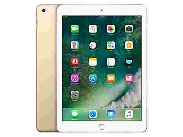 6% off on Apple iPad Tablet (9.7 inch, 128GB, Wi-Fi), Gold