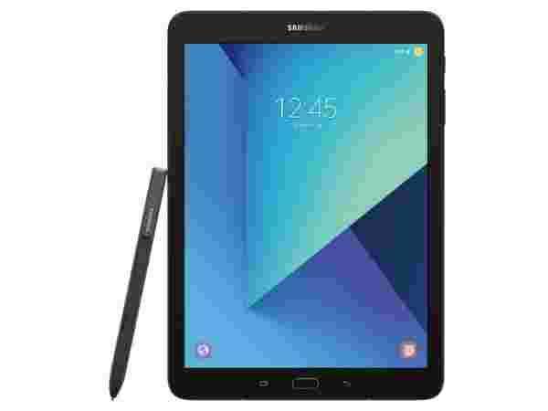 11% off on Samsung Tab S3 (with Pen) 32 GB 9.7 inch with Wi-Fi+4G Tablet  (Silver)