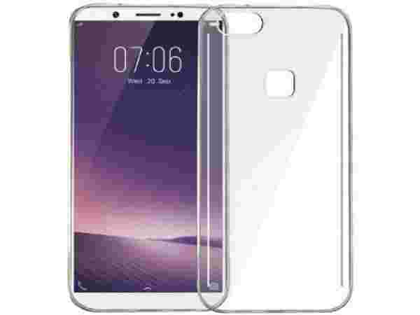 LOFAD CASE Back Cover for OPPO F5  (Transparent, Rubber)
