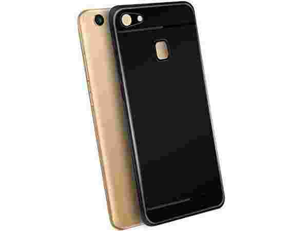 ZYNK CASE BACK COVER FOR Oppo F5 BLACK