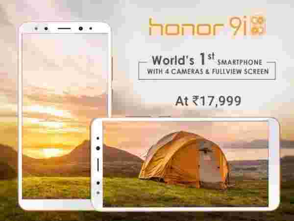 Honor 9i (EMIs from Rs 873/month)