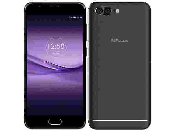 EMI starts at Rs 380 per month for InFocus Turbo 5 Plus (Midnight Black, Dual Rear Camera)