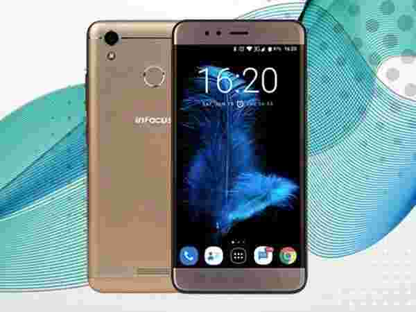 EMI starts at Rs 380 per month for InFocus Turbo 5 (Glittering Gold, 16GB, 5000mAH Battery)