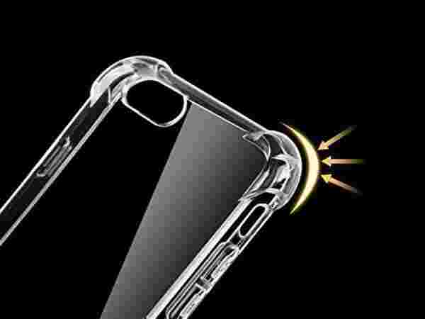 PROTEXZ™Shock Proof Protective Soft Transparent Back Case Cover For Oppo F5
