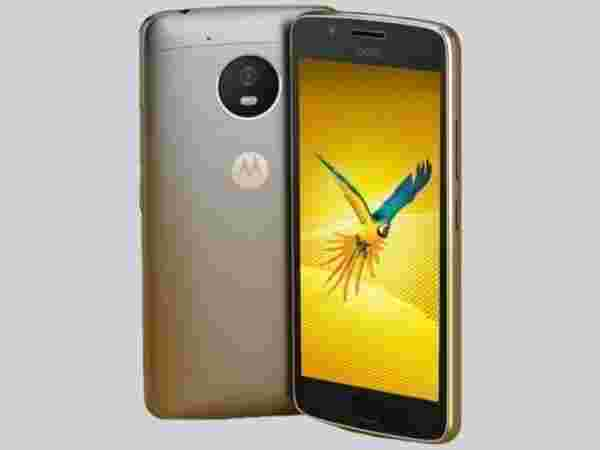 EMI starts at Rs 509 per month for Motorola Moto G5 (3GB, Fine Gold)