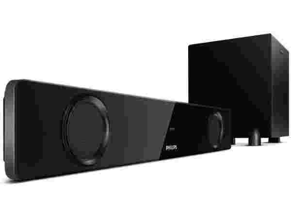 62% off on Philips IN- HTL1041/94 Bluetooth Soundbar  (2.1 Channel)