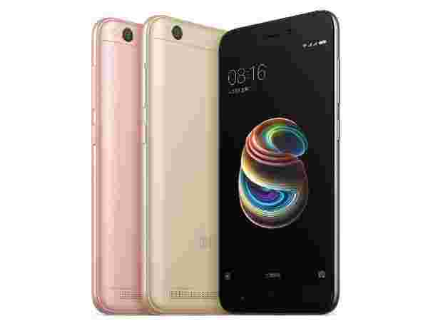 Redmi 5A (Offer: Rs 1,000 cashback with Jio Digital Life. Unlimited benefits on recharge of Rs199/pm.)