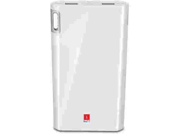 35% off on iBall PLM-10003 Li-Polymer 2 Port USB-Higher Safety Light Weight-White 10000 mAh Power Bank  (White, Lithium Polymer)
