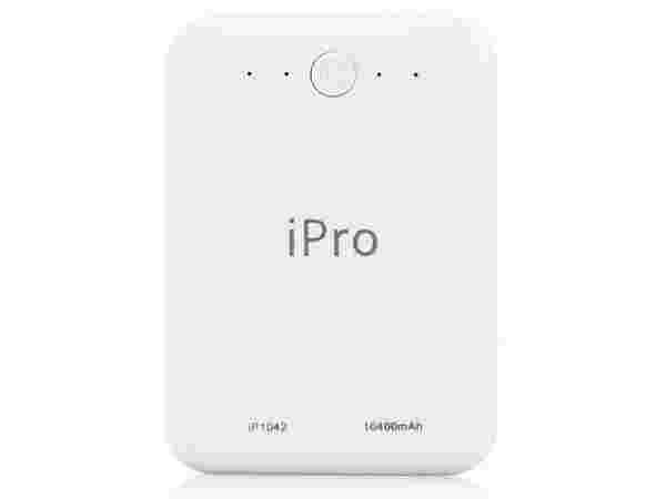 71% off on Ipro IP1042 10400 mAh Power Bank  (White, Lithium-ion)