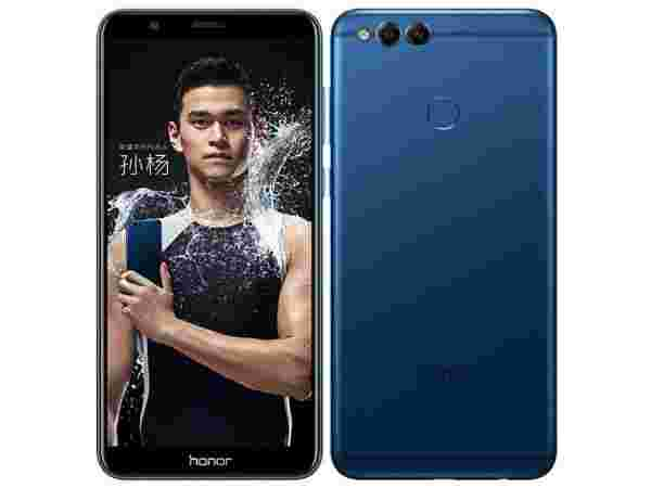 Honor 7X (Blue, 4GB RAM + 32GB memory) : EMI starts at Rs 618