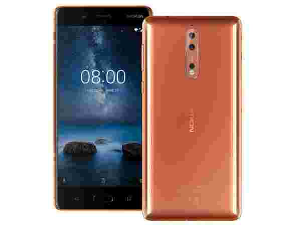 Nokia 8 : EMI starts at Rs 1,759