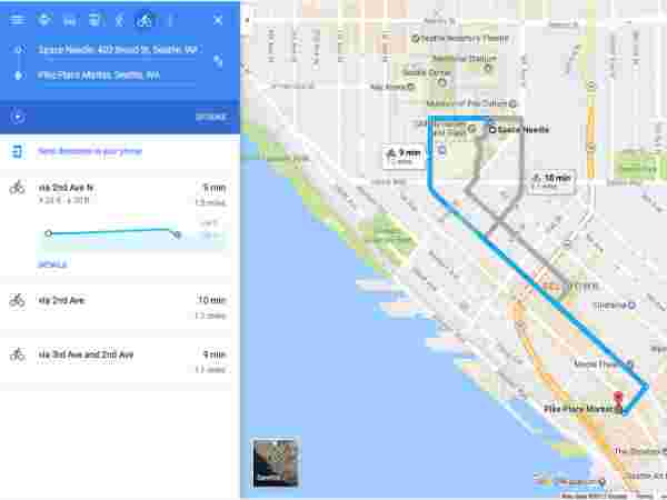Google Maps Directions