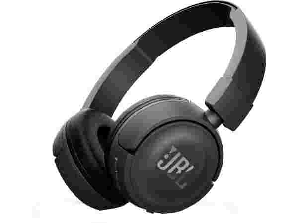3% off off on JBL T450BT Bluetooth Headset with Mic  (Black, Over the Ear)