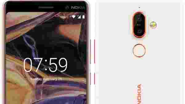 HMD Announces Nokia 8 Sirocco, Nokia 7 Plus and Nokia 1