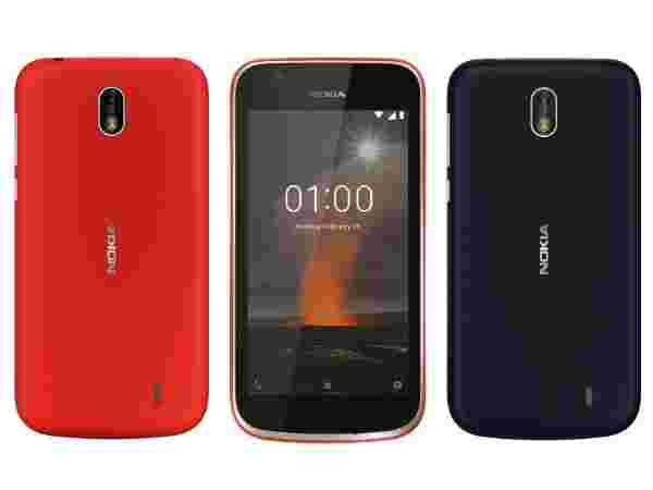 MWC 2018: Nokia 1 Is HMD Global's First Android Go Phone