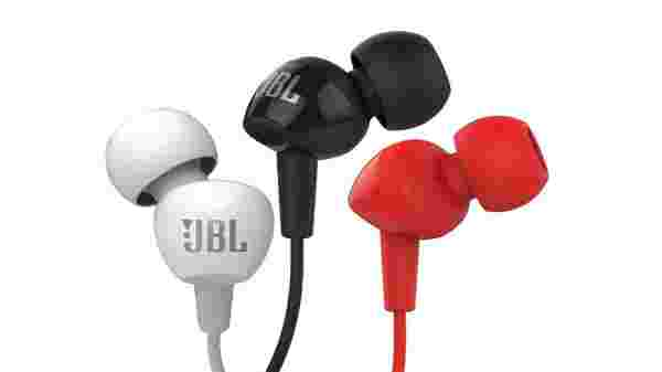 38% off on JBL C100SI In-Ear Headphones with Mic (Black)