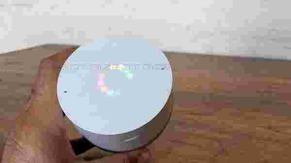 Touch capacitive buttons and eye-catchy LED light ring