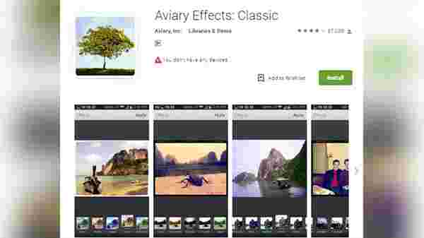 Aviary- For scenic images and portraits: