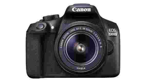 21% off on Canon EOS 1300D 18MP Digital SLR Camera (Black) with 18-55 and 55-250mm IS II Lens