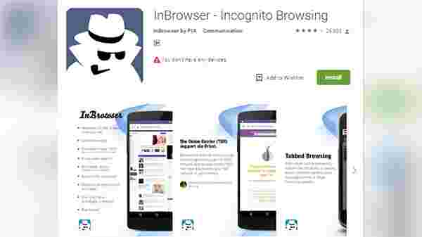 Javelin Incognito Browser – for security and privacy
