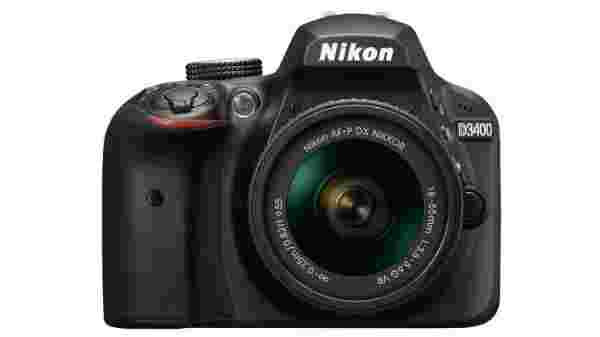 22% off on Nikon D3400 DSLR Camera Body with Dual Lens