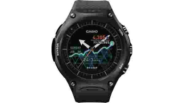 20% off on Casio Smart Outdoor Smartwatch  (Black Strap Regular)