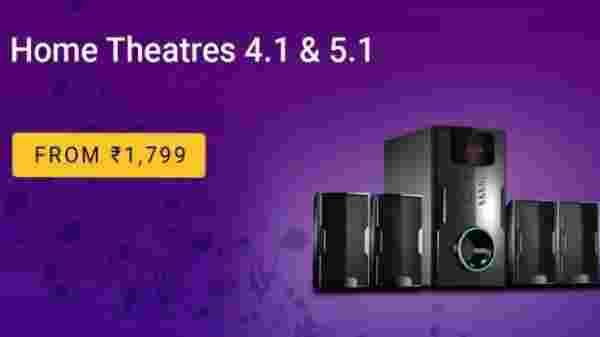 Home-theaters under Rs. 1,799