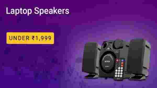 Laptop Speakers under Rs. 1,999