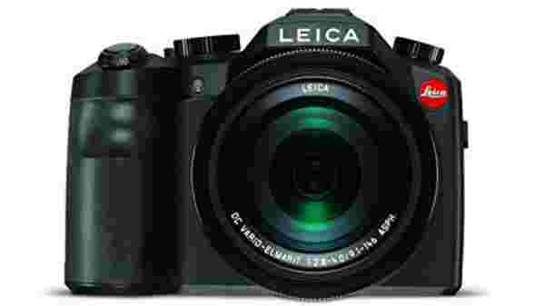 Leica 18197 V-Lux TYP 114 Camera, Black