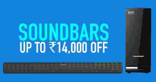 Sound Bars at up to Rs. 14,000 off